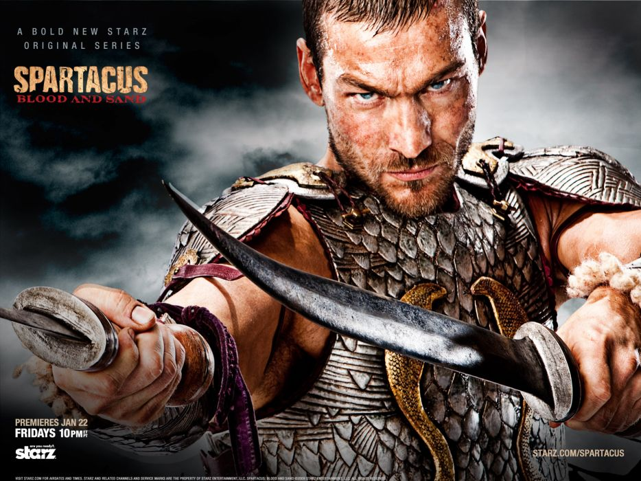 Andy whitfield wallpaper