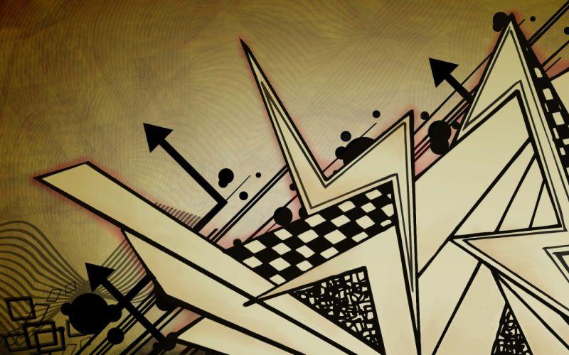 Abstract arrows wallpaper
