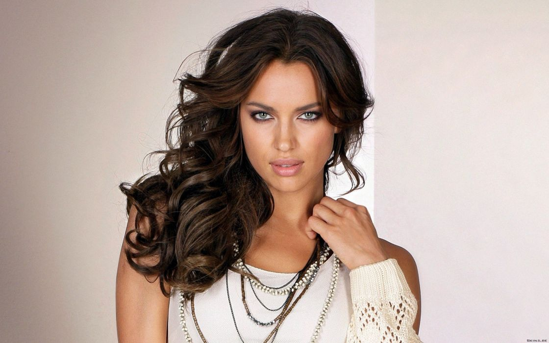 Brunettes women models irina shayk wallpaper