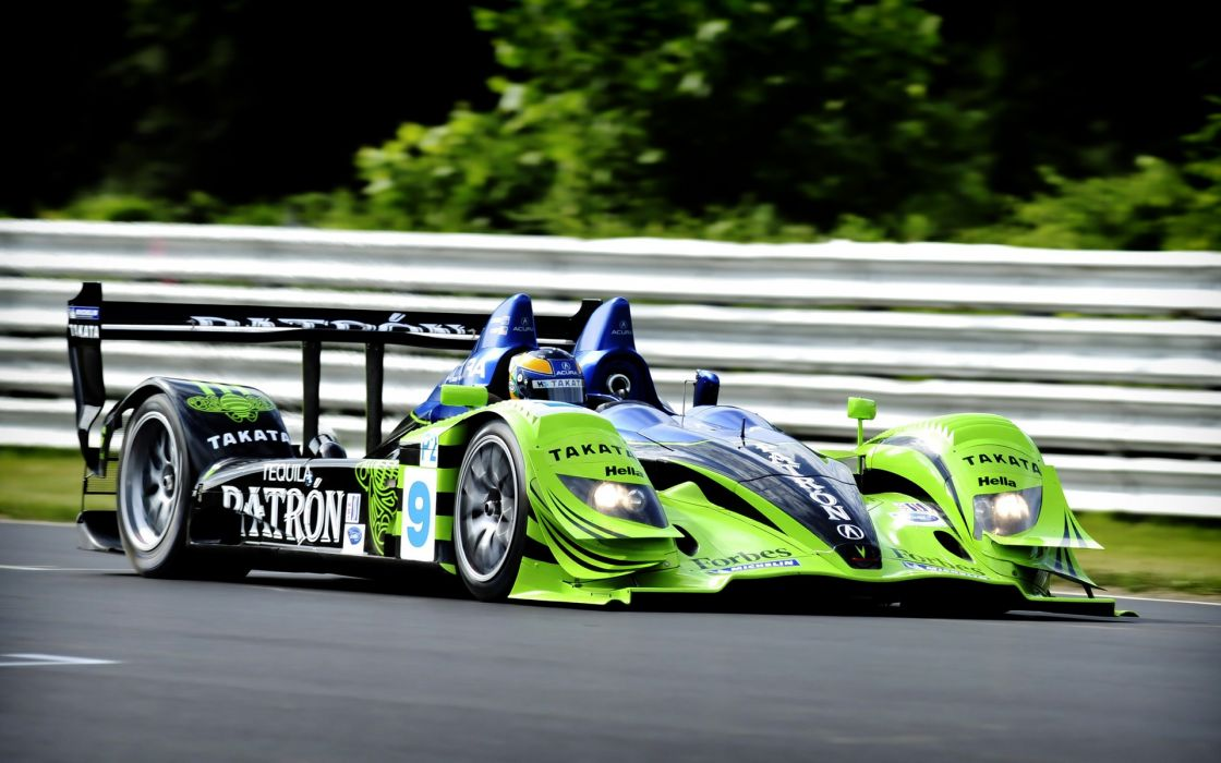 Cars le mans 2008 acura racing alms wallpaper