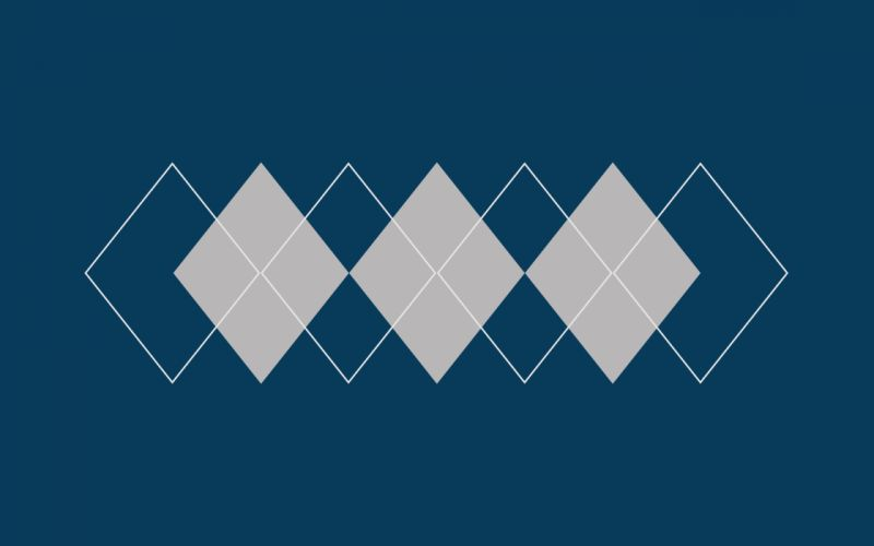 Minimalistic argyle pattern wallpaper