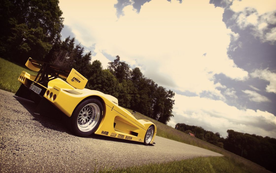 Vintage cars le mans racing skyscapes leblanc mirabeau wallpaper