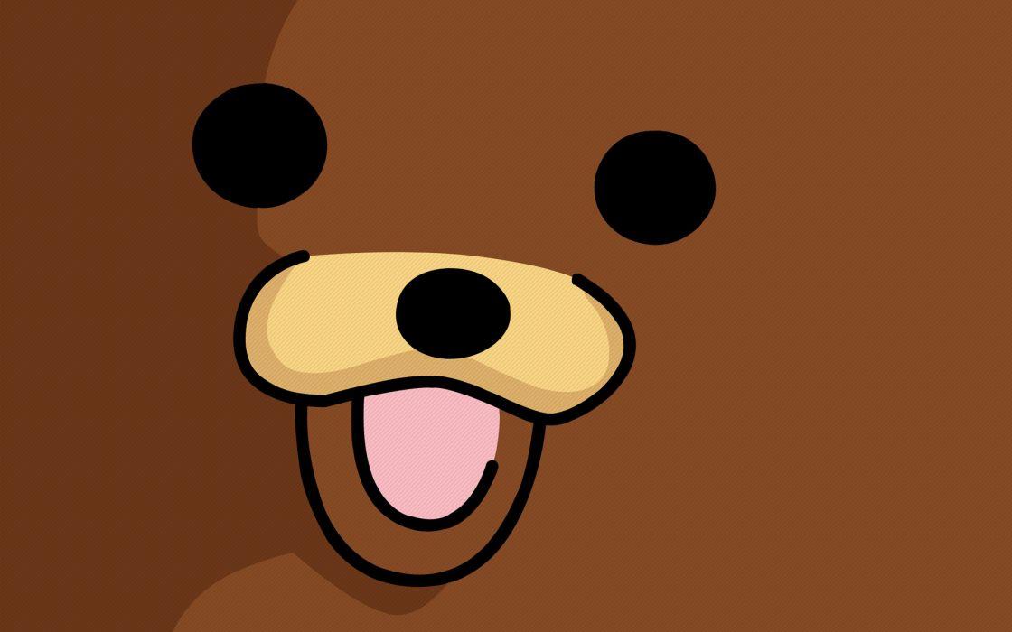 Pedobear faces wallpaper