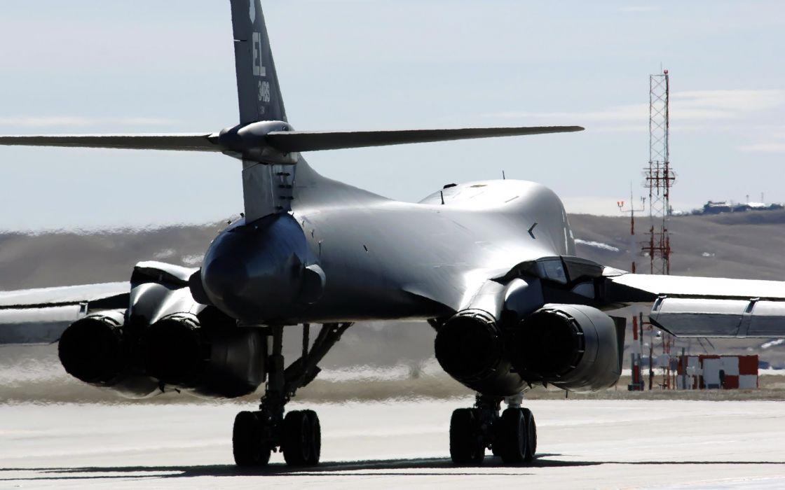 Aircraft military bomber lancer b1 lancer wallpaper