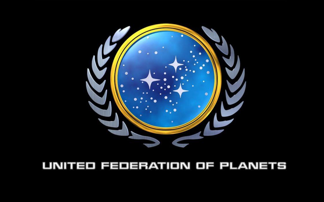 Star trek logos united federation of planets star trek logos wallpaper