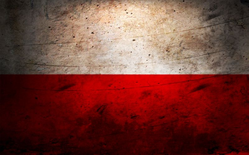 Flags poland wallpaper
