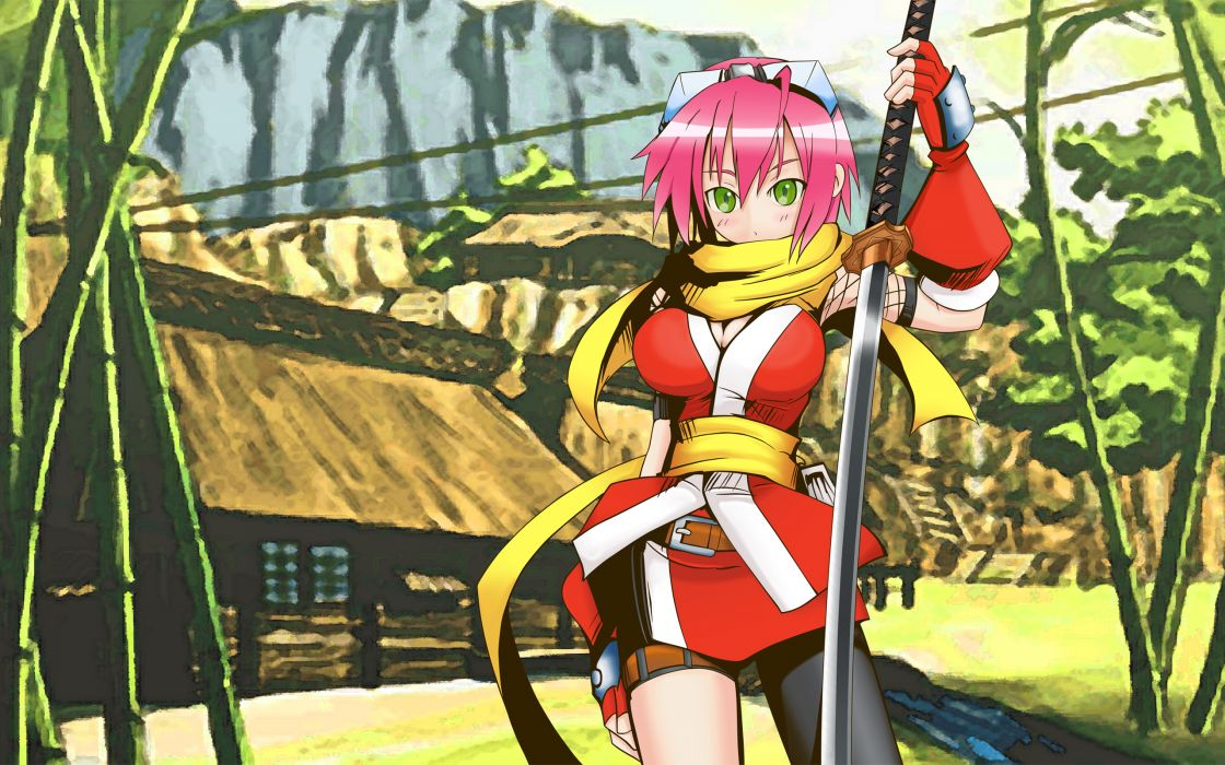 Video games izuna (legend of the unemployed ninja) izuna legend of the unemployed ninja wallpaper