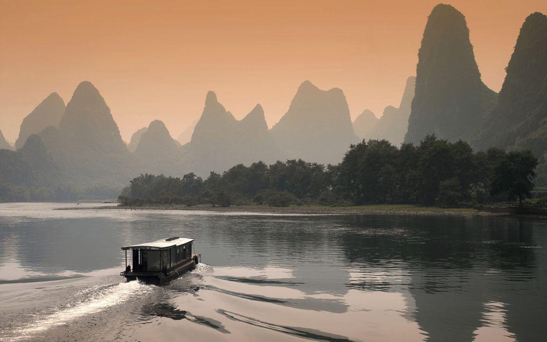 China rivers wallpaper