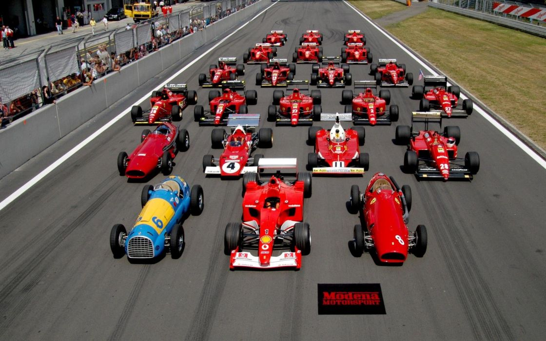 Ferrari formula one racing wallpaper