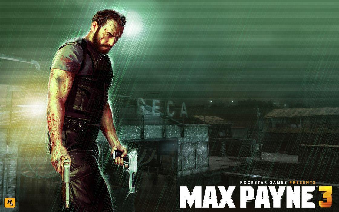 Video games rockstar games max payne 3 wallpaper