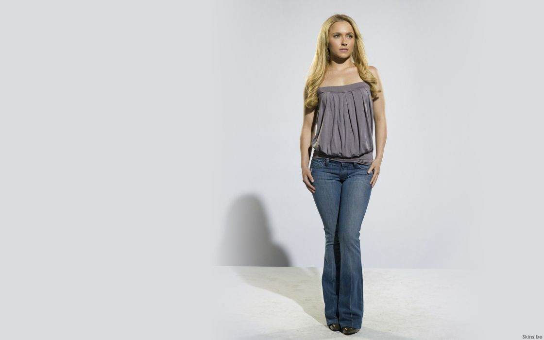 Blondes women jeans actress hayden panettiere celebrity wallpaper