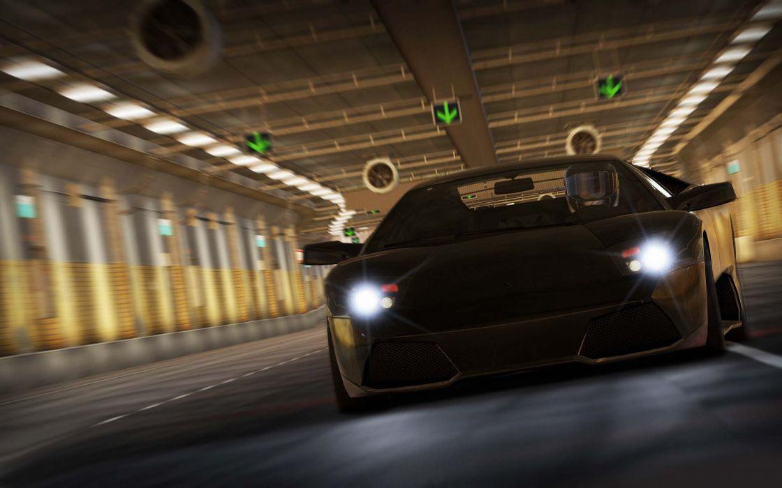 Video games cars lamborghini supercars black cars wallpaper