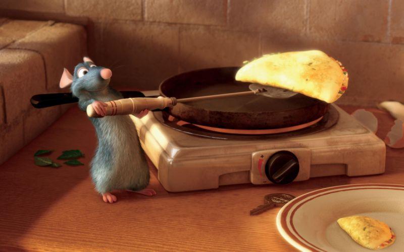 Pixar movies remy ratatouille wallpaper