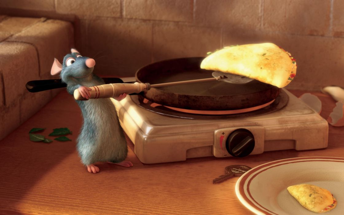 Pixar movies remy ratatouille wallpaper