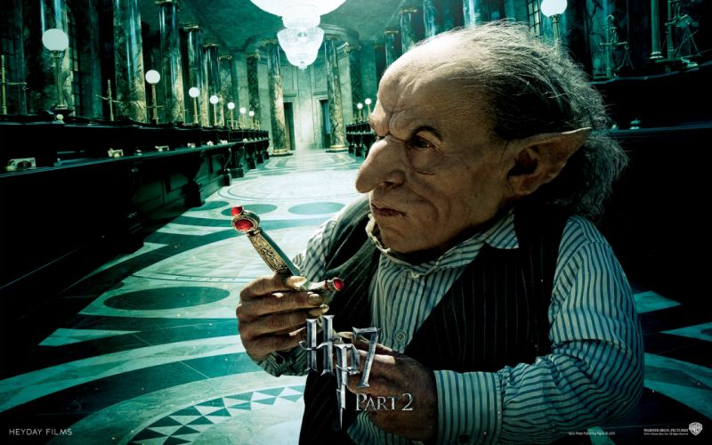 Fantasy movies harry potter magic bank goblins harry potter and the deathly hallows movie posters gringotts wallpaper