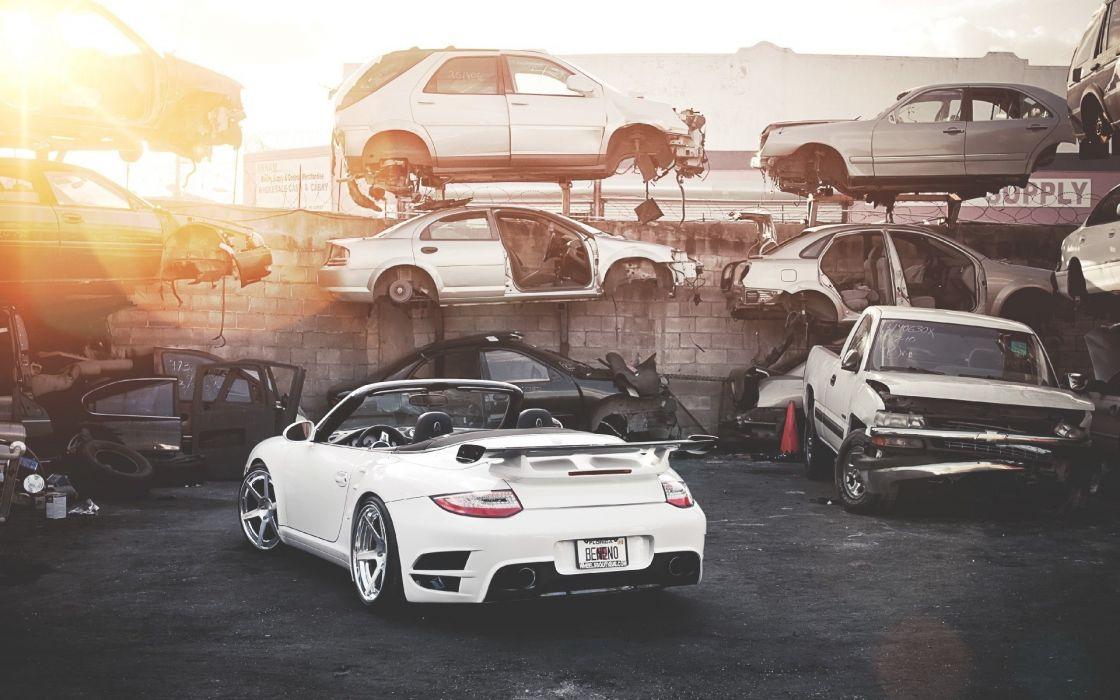 Cars vehicles tuning porsche 911 wallpaper