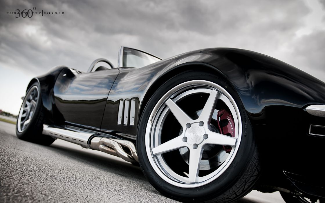 Black cars vehicles supercars tuning chevrolet corvette 360 wheels racing sport cars luxury sport cars chevrolet corvette c3 speed automobiles wallpaper
