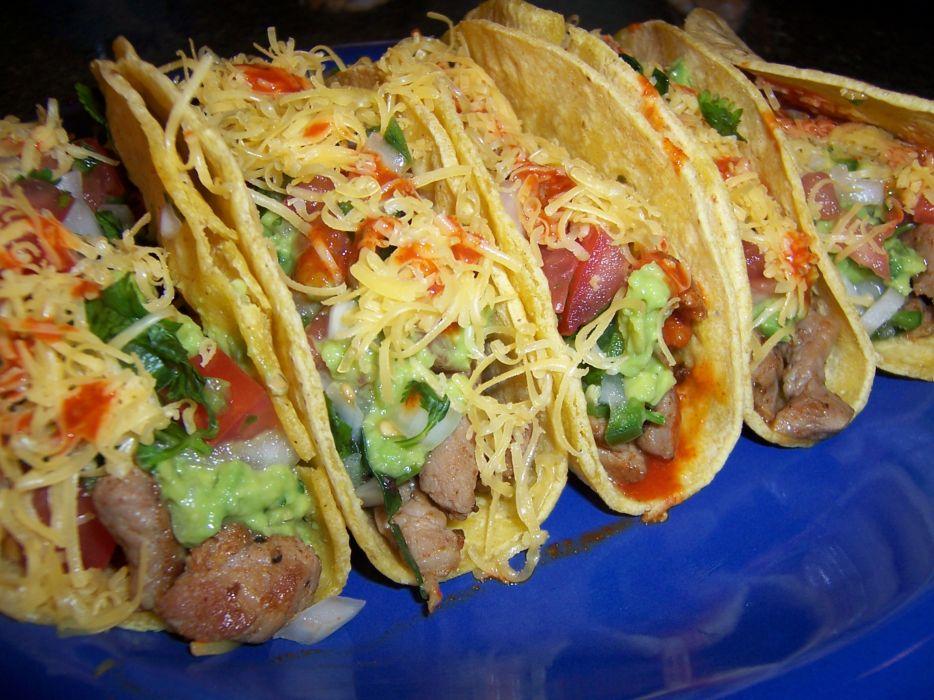 Food tacos wallpaper