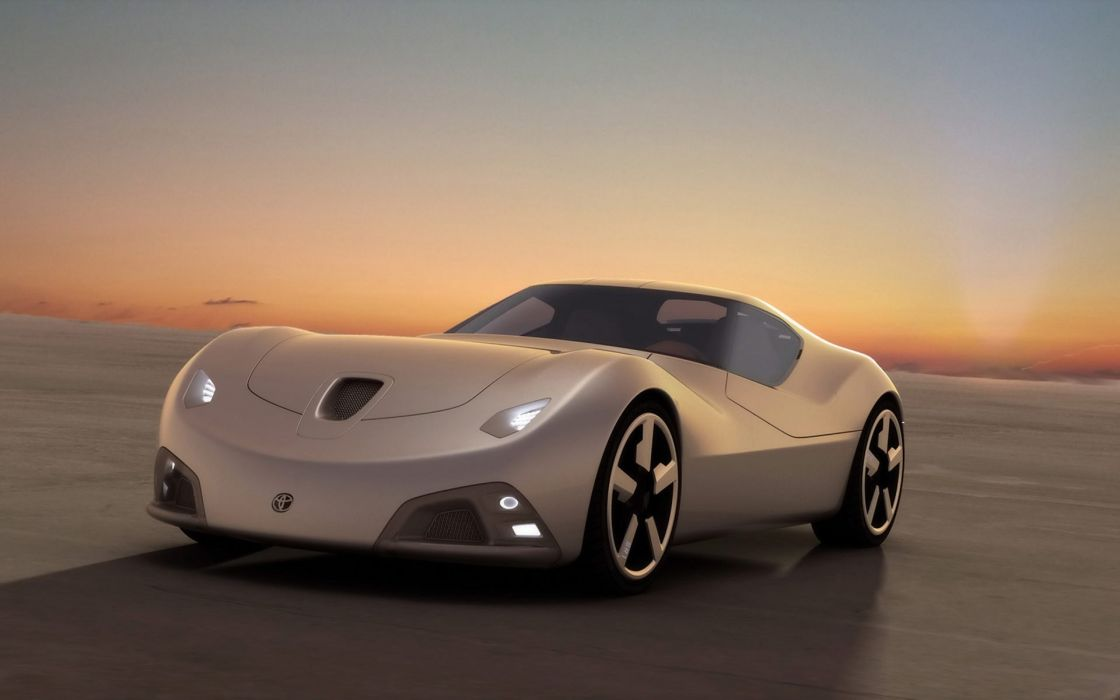 Cars toyota vehicles concept cars wallpaper