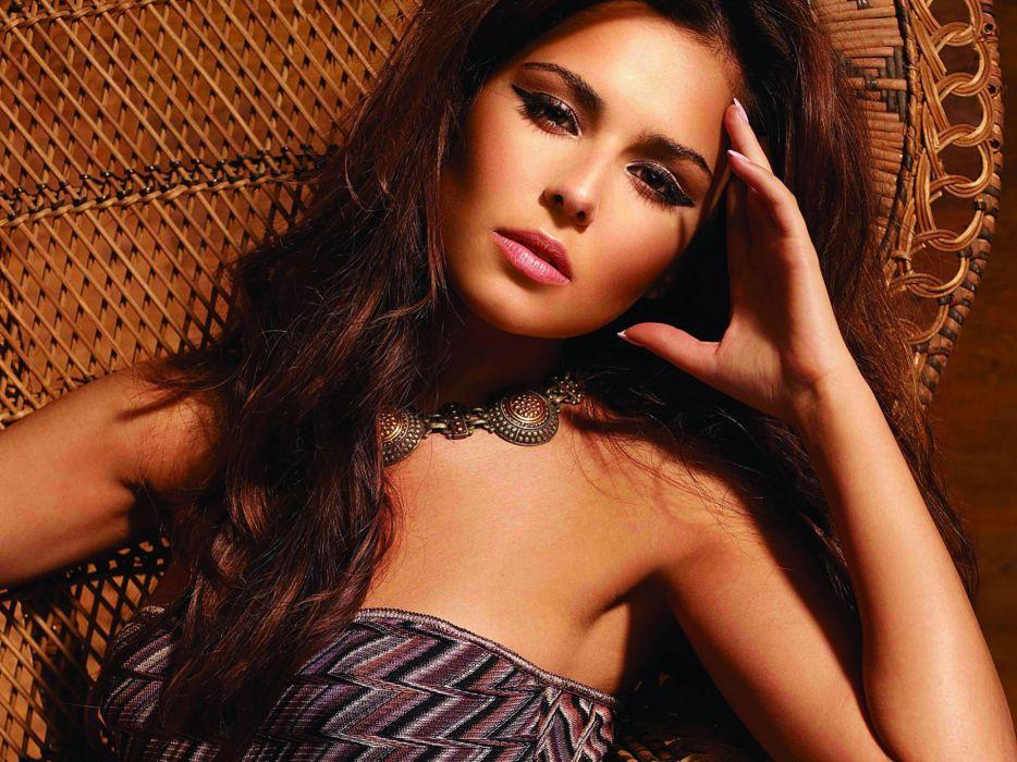 Brunettes women models cheryl cole wallpaper