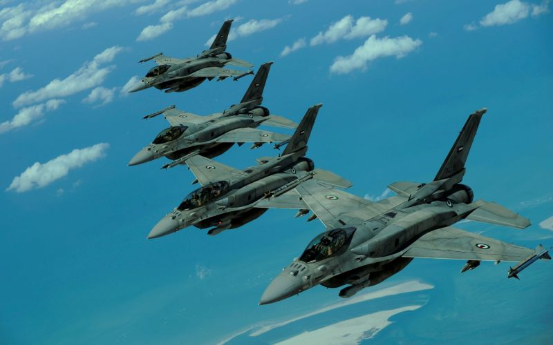 16 Fighting falcon jet aircraft wallpaper