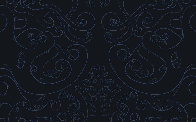 Blue black patterns textures wallpaper