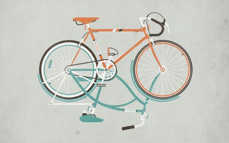 Bicycles wallpaper