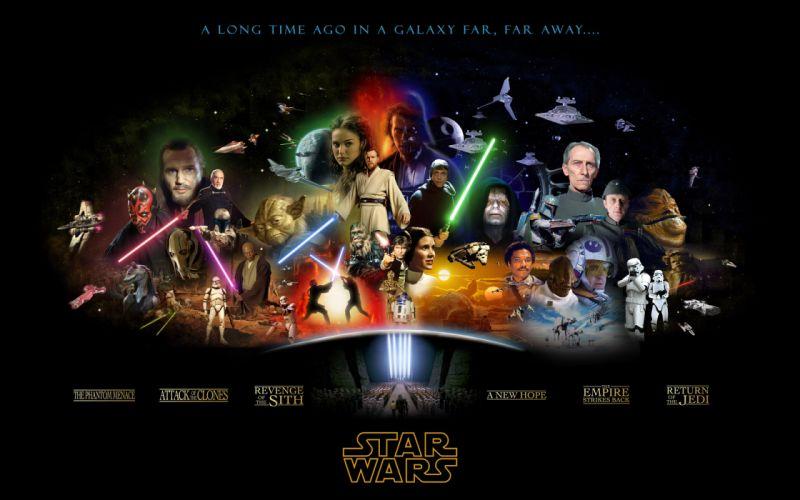 Star wars movies wallpaper