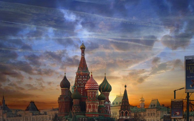 Moscow red square wallpaper