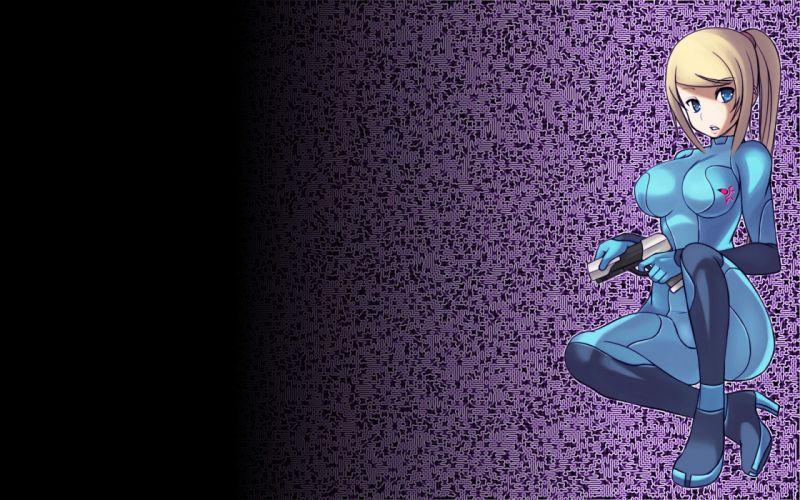 Metroid samus aran wallpaper