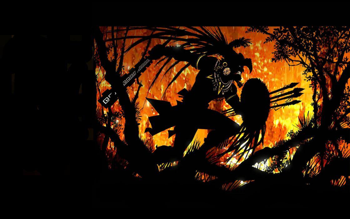 Eagles aztec wallpaper