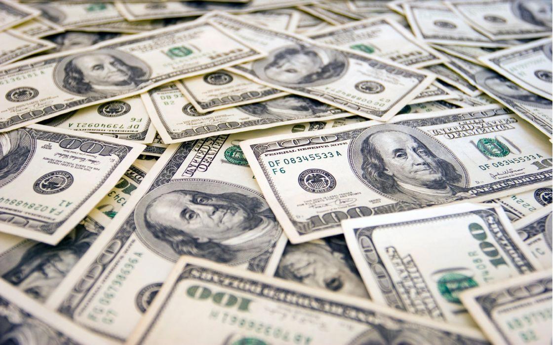 Paper money macro benjamin franklin wallpaper