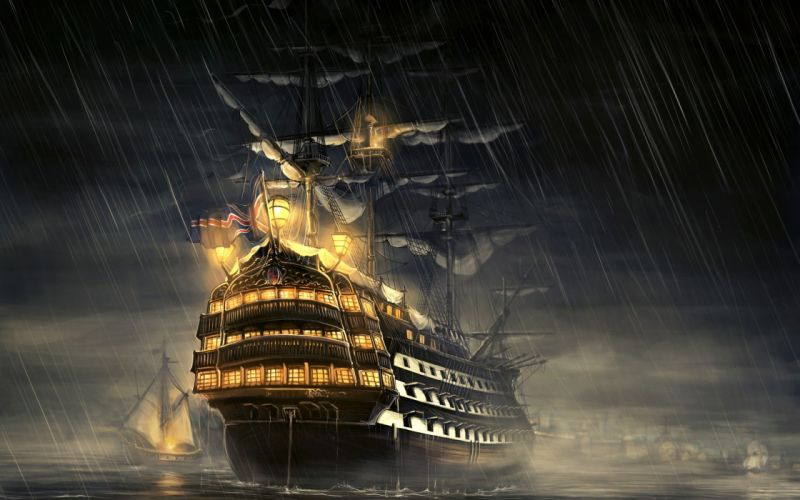 Ships artwork sail ship wallpaper