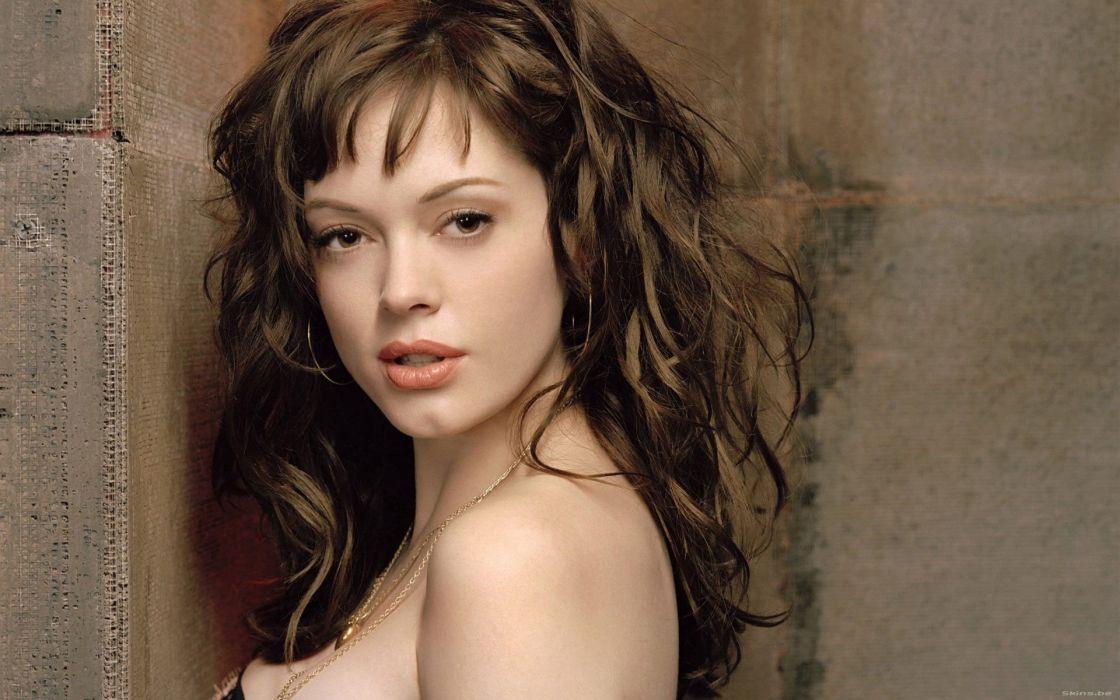 Brunettes women actress rose mcgowan wallpaper