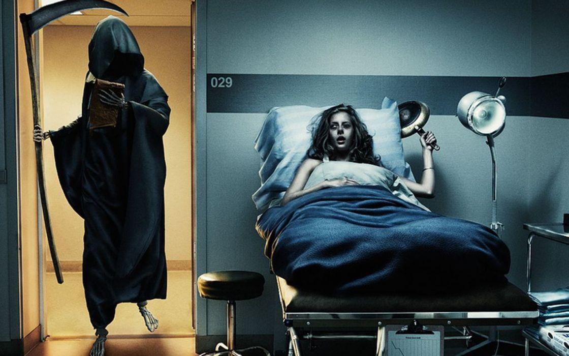 Death beds hospital alive  wallpaper