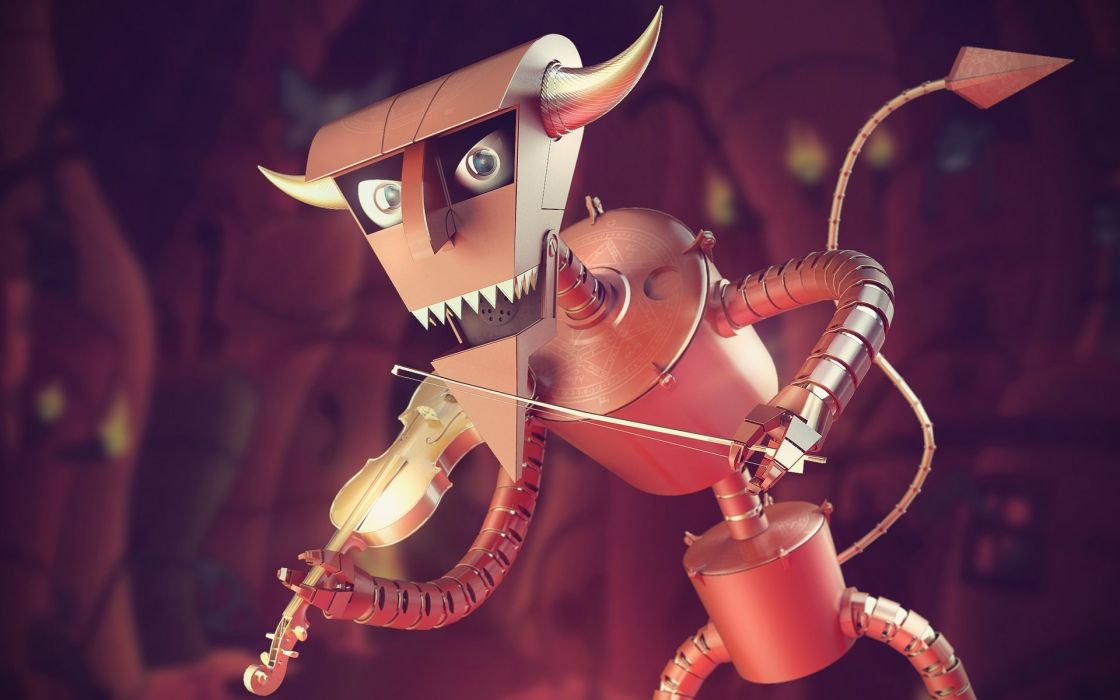 Futurama robot devil wallpaper