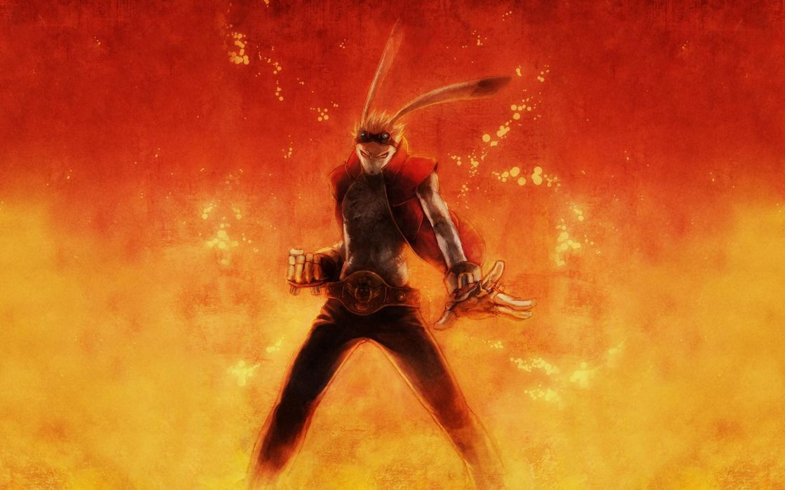 Gloves fire red eyes summer wars anime girls king kazuma wallpaper
