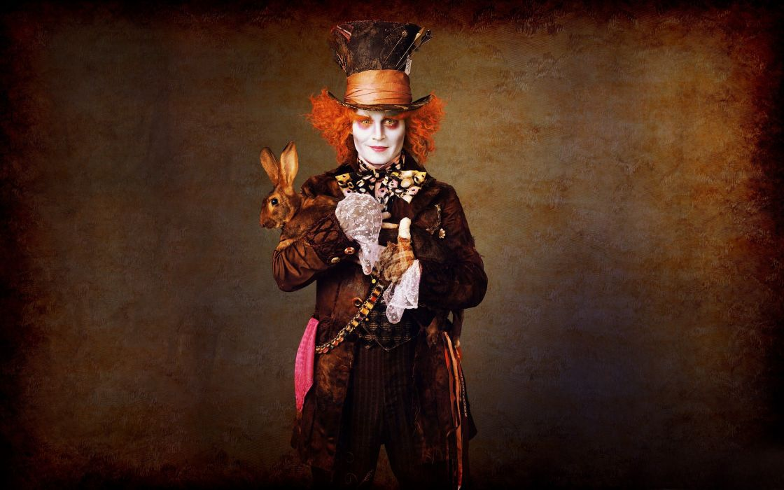 Alice in wonderland mad hatter johnny depp wallpaper