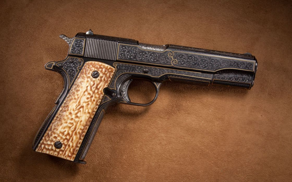 Pistols guns m1911 wallpaper