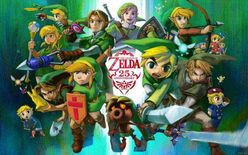 Nintendo video games link zelda the legend of zelda wallpaper