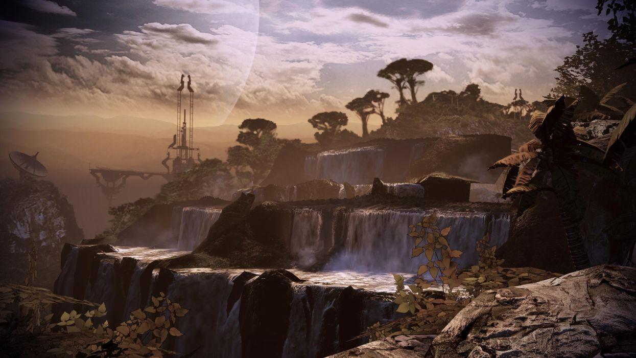 Screenshots mass effect 2 game environments wallpaper