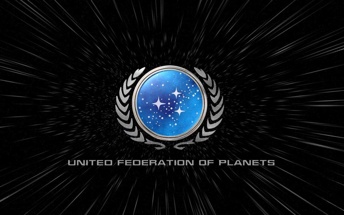 Star trek federation warp wallpaper