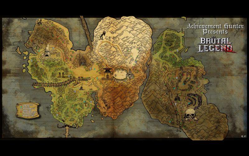 Fantasy art maps wallpaper