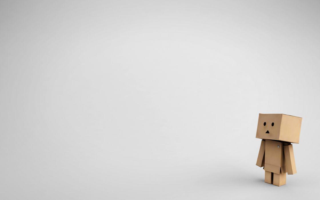 Robots cardboard danboard wallpaper