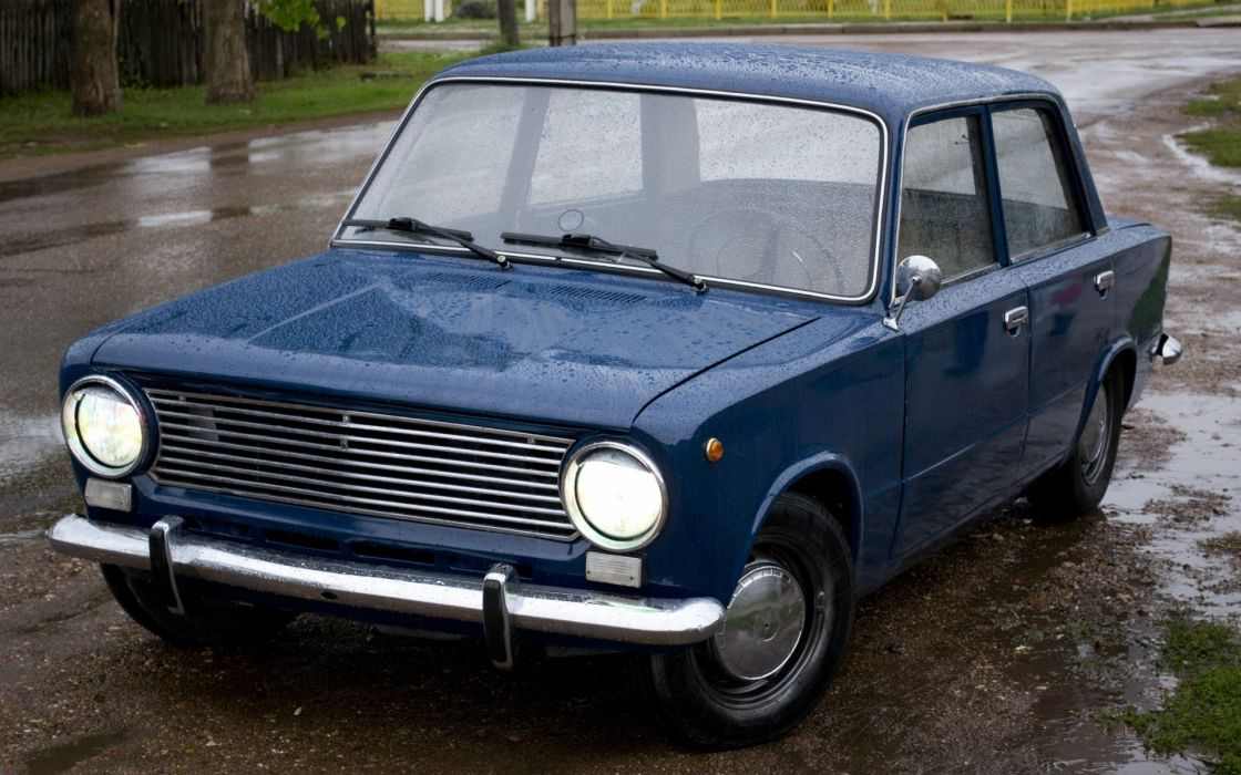Cars old cars lada 2101 blue cars russians wallpaper