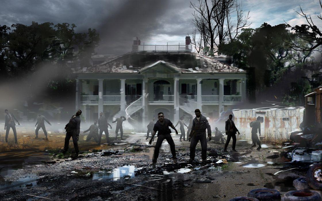 Video games zombies 3d zombie wallpaper
