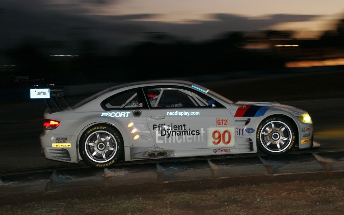 Bmw night cars le mans race wallpaper