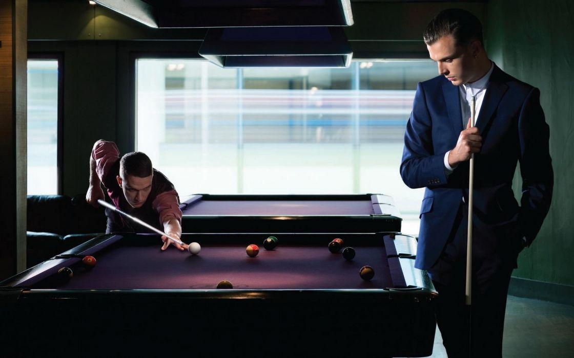 Room men billiards billiards tables wallpaper