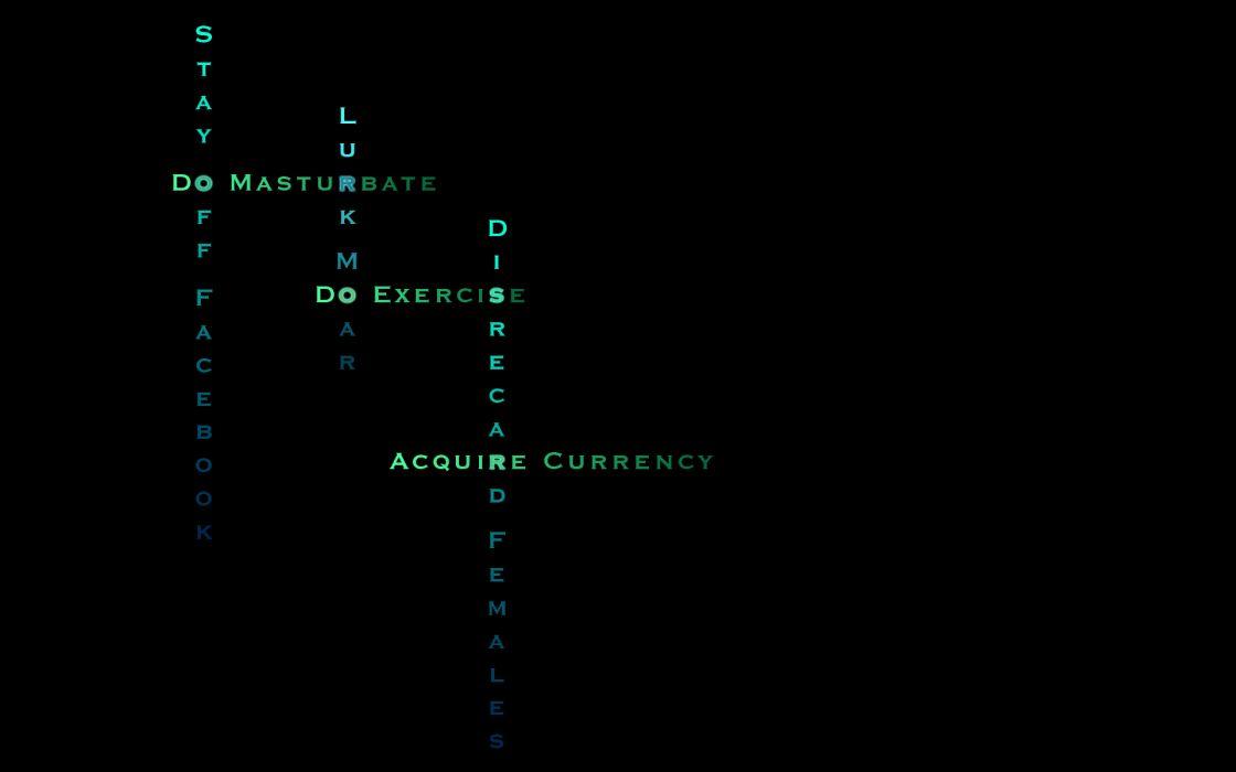 Facebook money texts masturbation typography lurker wallpaper