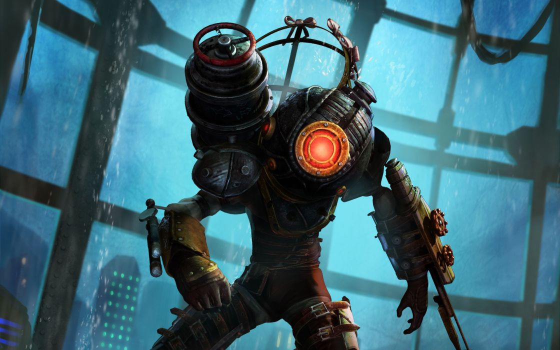 Video Games Big Sister Bioshock 2 Wallpaper